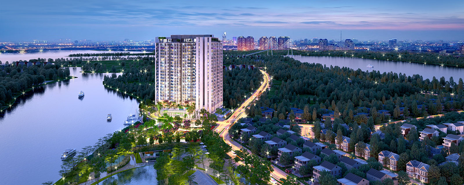 Constantly striving to reach the target of a leading real estate investment company in Ho Chi Minh City