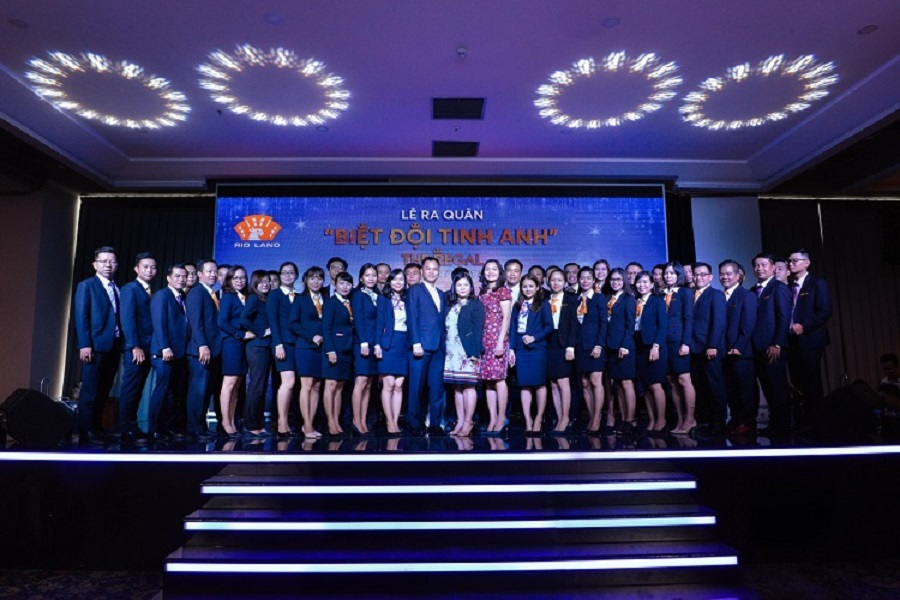 The launching ceremony of The Regal Vung Tau Project